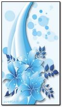 Màu xanh ánh sáng lung linh
