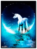 Unicorn In The Moon