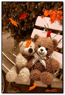 Autumn Teddys Love