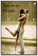 Couple At Rain