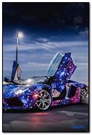 ดาราจักร Roadster Lamborghini Aventador