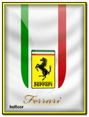 Ferrari Logo Bandera