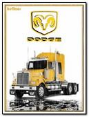 Xe tải Dodge màu vàng nguyên bản tốt nhất