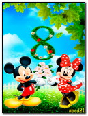 Mickey Congratulates Mini On March 8