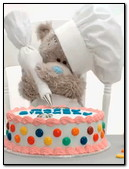 Teddy Decorate A Cake