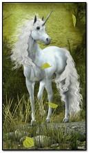 एक काल्पनिक एकशृंगी घोडा
