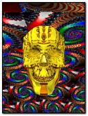 Abstract Skull