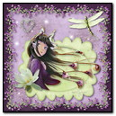 Fantasy Girl In Lavendar