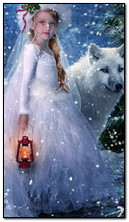 Girl And The Wolf