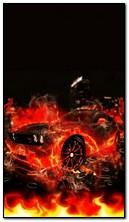 Автомобиль в огне
