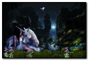 Animation Fantasy Licorne