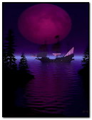Purple Ship