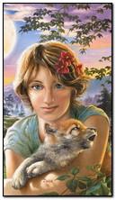 Gadis dan serigala