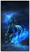 Синій кінь
