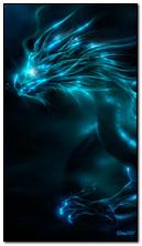 Dragon au néon