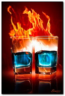 Fire Cocktails