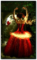 راقصة