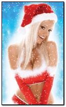 فتاة سانتا