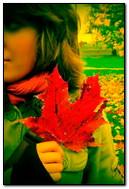 Beauty Autumn Girl