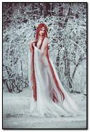 여자 겨울