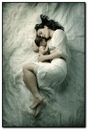 Sleeping Mother & Babie
