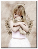 Little Angel With Teddy