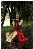 Pluie d'été