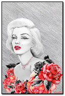 Drawing Marilyn