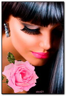 kız ve güller