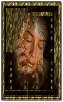 złota twarz