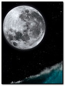 Man On The Moon Background
