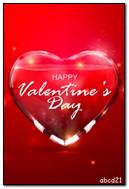 Valentine Kaca Air