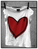 Áo trái tim màu