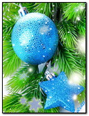 Blue Festive Christmas