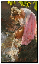 Girl With Water