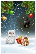 Hadiah Hantu Di Bawah Snowgif