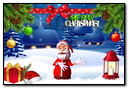 Greetings Card Merry Christmas!