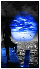 Blauer Mond