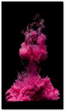 Fumée rose