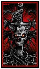 Skull Rojo