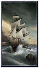 समुद्र में नाव