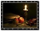Candle & Fruit