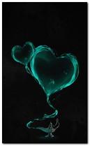 Сердца в лампе