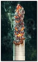 Сияющая сигарета