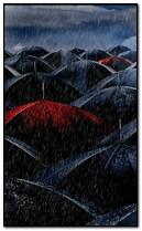 pioggia di ombrello