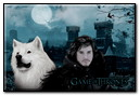 Jon Snow And The Ghost