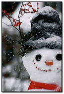 manusia salju