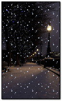 zimowa noc