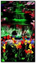 thác nước màu