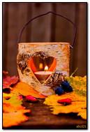 가을 촛불